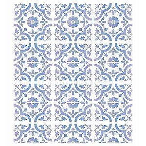 Stencil 20×25 Simples – Estamparia Ladrilho I – OPA 2583