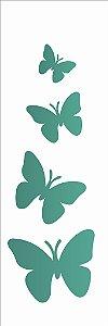 Stencil 10×30 Simples – Borboletas – OPA 719