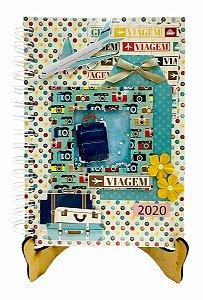 Agenda Personalizada 2020 - Viagem - 20x15 cm