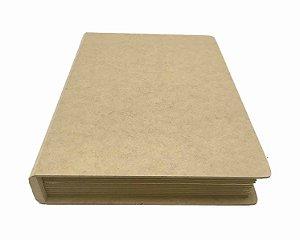 Caixa Livro MDF Média Dobradiça Metal 26,5x20x5 Promoção