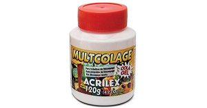 Multcolage Acrilex 120 gr - Cola Gel