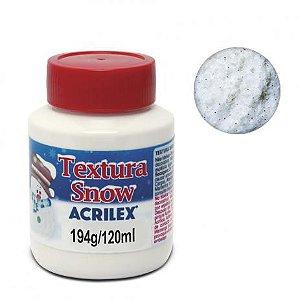 Textura Snow Acrilex 120ml 876 - Neve Glitter