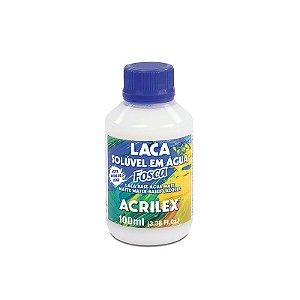 Laca Solúvel em Água Fosca Acrilex 100 ml