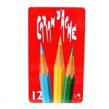 Lápis de Cor Red Caran D'ache Estojo Lata c/12 cores 288-412