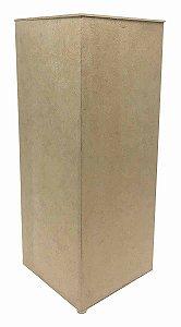 Caixa Porta Papel Higiênico Liso Retangular em MDF