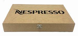Caixa Porta 30 Capsulas de Café Nespresso em MDF Qualidade