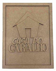 Quadros Decorativos Personalizado *Casa Do Caralh* ...* MDF