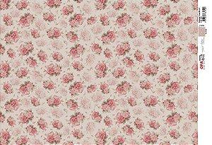 Papel P/ Decoupage Flores Micro 1 - 2403 - 45 x 30 cm - Opapel