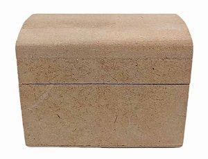 Mini Baú Mdf Lembrancinha Dobradiça 10x6x8 Cm Qualidade
