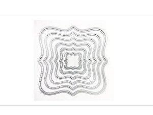 Facas de Corte - Formas Geométricas - 6 Peças - Sunlit