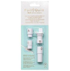 Kit Para Foil Quill com 4 adaptadores  - 661023 - We R