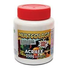 Multcolage Acrilex 250 gr - Cola Gel