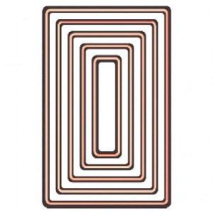 Faca de Corte em Metal Arte & Montagem Retângulo