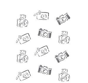 Stencil 15X20 Simples – Câmera de Fotos – OPA 1211