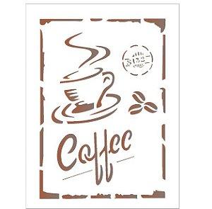 Stencil 15X20 Simples – Coffe – OPA 1753