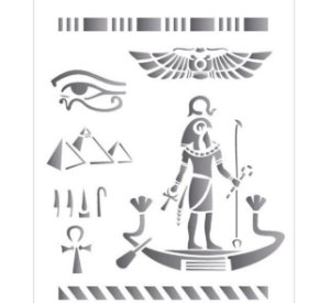 Stencil 20X25 Simples – Países Egito OPA 1332