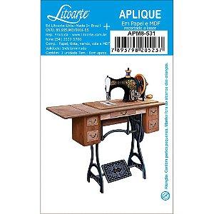 APM8-531 - Aplique Em Papel E MDF - Maquina Costura Suporte