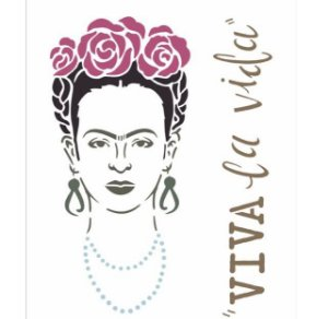 Stencil 20X25 Simples – Frida OPA 2361