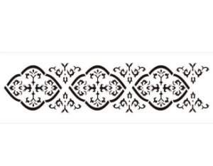 Stencil 10×30 Simples – Border Colonial – OPA 725
