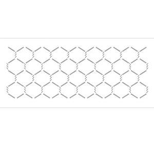 Stencil 10×30 Simples – Galinheiro Pequeno – OPA 030