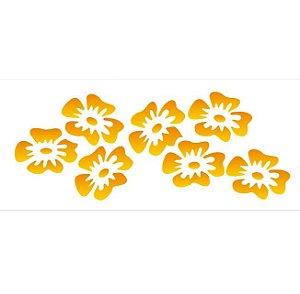 Stencil 10×30 Simples – Flores Tropicais – OPA 027