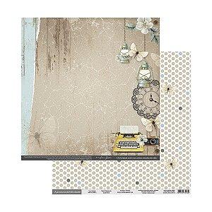 Folhas Para Scrap À Procura Da Felicidade Terra Molhada - Scrap By Antonio 200319