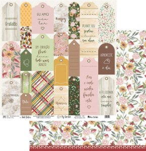 Papel My Memories Para Scrapbook - My Garden - MMCMG-02