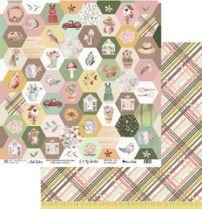 Papel My Memories Para Scrapbook - My Garden - MMCMG-03