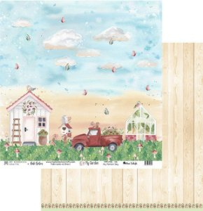 Papel My Memories Para Scrapbook - My Garden - MMCMG-06