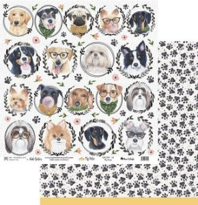Papel My Memories Para Scrapbook - My Pets MMCMP-01
