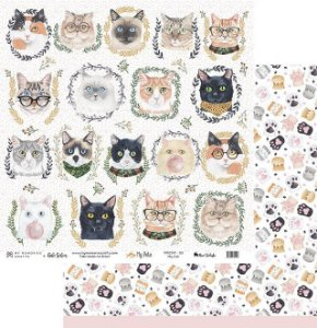 Papel My Memories Para Scrapbook - My Pets MMCMP-02
