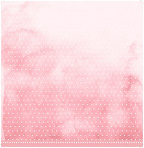 Papel My Memories Para Scrapbook - My Basics Rosa MMCMB-04