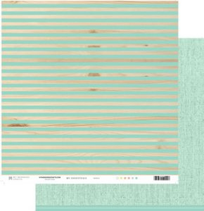 Papel My Memories Para Scrapbook - My Essentials Verde Menta MMCME-06