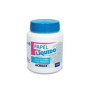 Papel Líquido Acrilex – Efeito Papel  - 22625 - 250 ml