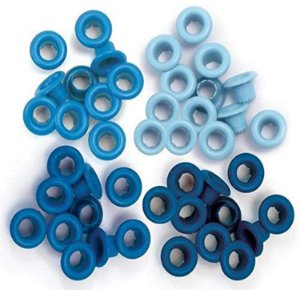 Ilhós P/ Artesanato Tons Azul C/40 41590-9 - WeR