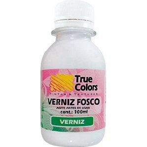 Verniz Acrílico Fosco - 18121 - True Colors 100 ml