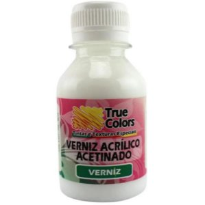 Verniz Acrílico Acetinado - 18119 - True Colors 100 ml