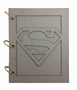 Álbum Holler Cartonagem Super Homem