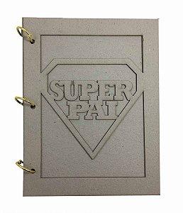 Álbum Holler Cartonagem Super Pai
