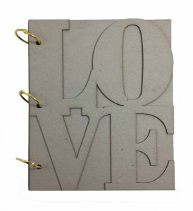 Álbum Holler Cartonagem Love