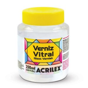 Verniz Vitral Acrilex 250 ml - Incolor 500