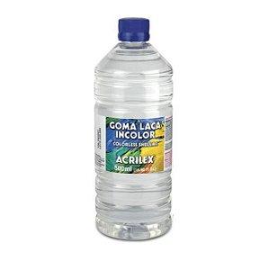 Goma Laca Incolor Colorless Shellac Acrilex 500 ml