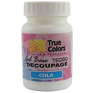 Gel Base Decoupage Tecido True Colors 80 ml