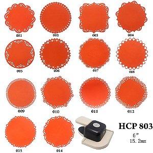"Furador 360º Sunlit 6"" Scrapbook (15.2 mm) HCP-803"