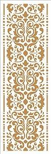 Stencil 10×30 Simples – Estamparia Colonial IV - Opa 2912