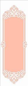 Stencil 10×30 Simples – Moldura Arabesco III - Opa 2918