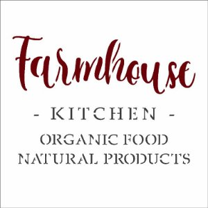 Stencil 10X10 Simples – FarmHouse Kitchen - Opa 2993