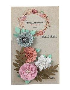 Flores de Papel P/ Scrapbook Bali Indonésia 25.03 - By
