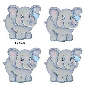 APM3-198 - Aplique Litoarte Em Papel E MDF - Elefante