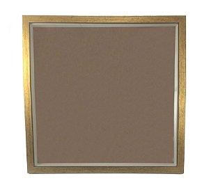 Molduras De MDF Dourado - 5159 - Para Exposição Scrapbook